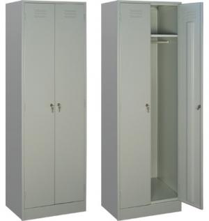 Шкаф металлический для одежды ШРМ - 22